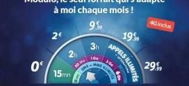 Prixtel Modulo : le 1er fortfait 4G sans engagement à 0 €