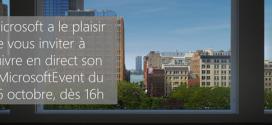 Le #MicrosoftEvent en direct à 16 heures
