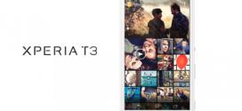 Sony Xperia T3 : encore quelques images