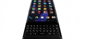 Blackberry Venice : un slider sous Android