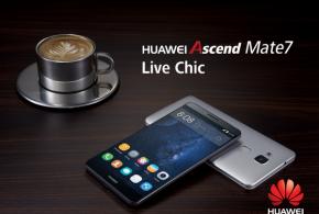 Huawei présente son Ascend Mate 7