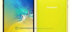 Samsung Galaxy S10e : une couleur acidulée