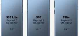 Samsung Galaxy S10 : la production serait lancée