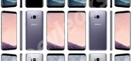 Samsung Galaxy S8 : nouveaux rendus et vidéo de prise en main