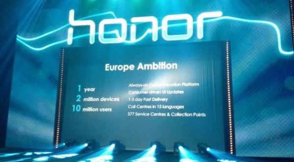 Honor : disponibilité européenne imminente