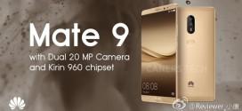 Huawei Mate 9 : Leica est de la partie