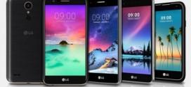 Le LG K10 (2018) probablement présenté au CES de Las Vegas