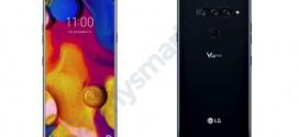 LG V40 : 3 capteurs photo à l'arrière
