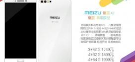 Meizu X2 : le premier smartphone à double capteur photo dorsal du fabricant