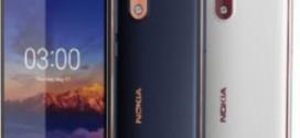 HMD Global annonce le Nokia 3.1 (2018)