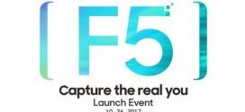 Oppo F5 : un lancement le 26 octobre