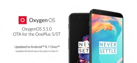OnePlus 5T : Android Oreo 8.1 est là