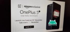 OnePlus 5T : un lancement prévu le 16 novembre