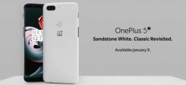 OnePlus 5T : et maintenant une édition blanche