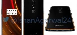 OnePlus 6T MCLaren Edition : les premiers rendus