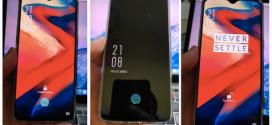 OnePlus 6T : les premières photos réelles