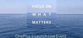 OnePlus 5 : 5 couleurs et un lancement en Inde