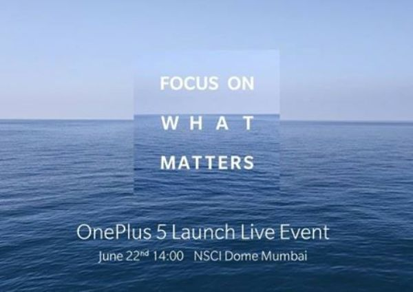 1Oneplus 5 launch
