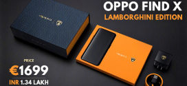 Oppo Find X Lamborghini Edition : une recharge ultra rapide