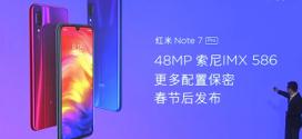 Le Redmi Note 7 Pro bientôt dévoilé