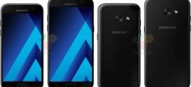 Les Samsung Galaxy A3 et A5 2017 se dévoilent un peu plus