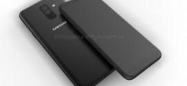 Samsung Galaxy A6 : un nouveau rendu