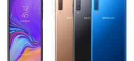 Samsung Galaxy A7 (2018) : un triple capteur photo à l'arrière