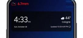 Samsung Galaxy A8s : un écran Infinity O display