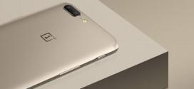 OnePlus 5 : et maintenant la version Gold