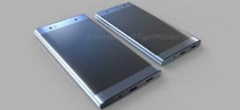 Sony Xperia XA2 : un nouveau rendu en 3D