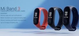 Xiaomi dévoile officiellement le Mi Band 3