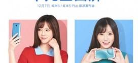 Xiaomi Redmi 5 et Redmi 5 Plus : une présentation officielle le 7 décembre