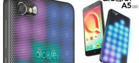 Alcatel A5 LED : le disco est de retour