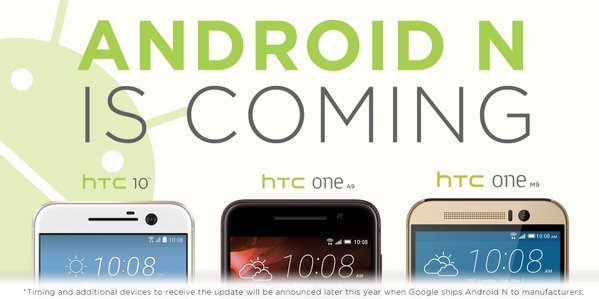 1android N HTC