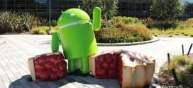 Bugdroid Android P est là