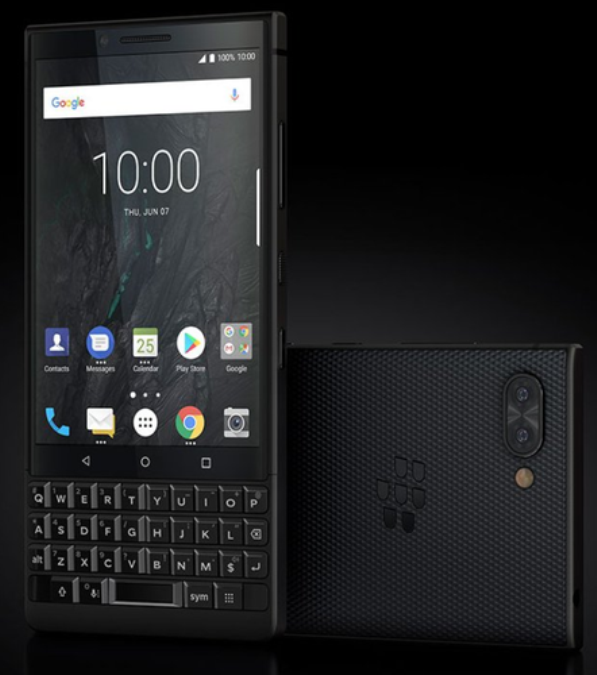 1blackberry key2 black