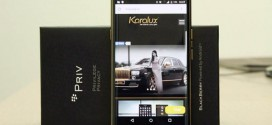 BlackBerry Priv : une version Or 24 carats