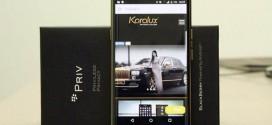 BlackBerry Priv : une version Or 24 carats