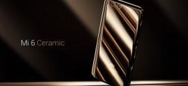 Le Xiaomi Mi6 est officiel