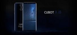 Cubot X18 : le 18:9 à petit prix