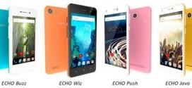 Echo présente sa nouvelle gamme de smartphones colorés