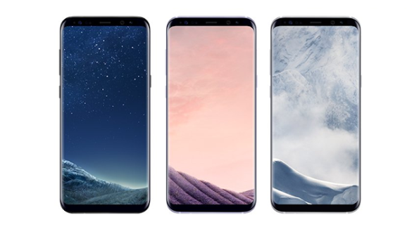 1galaxy S8 Plus colors leak
