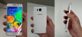 Samsung Galaxy Alpha : nouvelles photos et caractéristiques techniques.