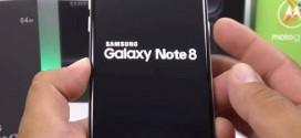 Samsung Galaxy Note 8 : le smartphone et la boîte apparaissent sur Weibo