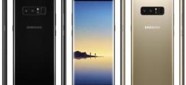 Samsung Galaxy Note 8 : les premiers rendus presse