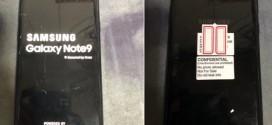Samsung Galaxy Note 9 : premières images volées sur Twitter