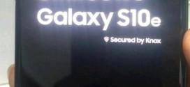 Samsung Galaxy S10e : vous saurez (presque) tout