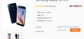 Samsung : le Galaxy S6 Mini en précommande
