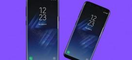 Le Samsung Galaxy S8 sur une affiche officielle