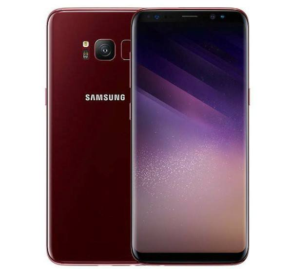 1galaxy s8 red